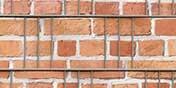 PVC Sichtschutz Backstein Mauer