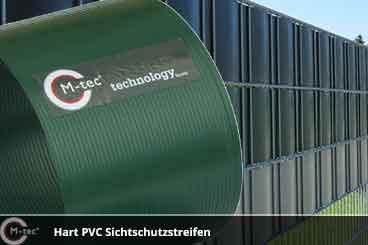 Hart PVC Sichtschutzstreifen