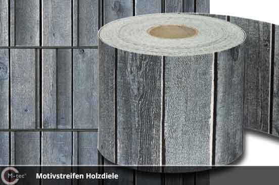 sichtschutzstreifen mit motiv aus polyester. Black Bedroom Furniture Sets. Home Design Ideas