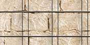 PVC Sichtschutz Sandsteinmauer