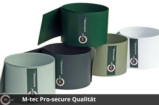 M-tec Pro-secure Qualität 5 Farben