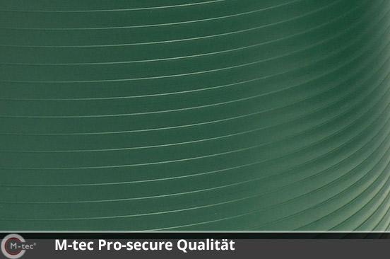 M-tec Pro-secure Qualität