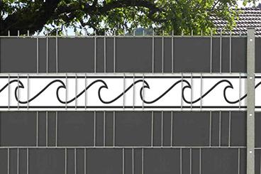 M-tec design Sichtschutzstreifen Wave