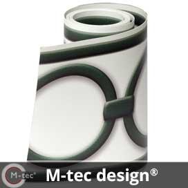 M-tec design Sichtschutzstreifen Marke