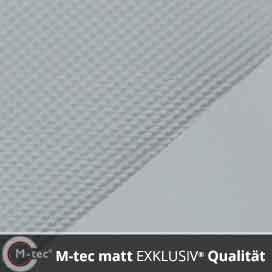 M-tec matt  EXKLUSIV  Qualität lichtgrau
